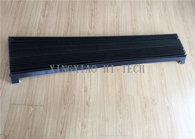 PVC Machine Protection Fabric Expansion Joint Covers / Connection Black Color
