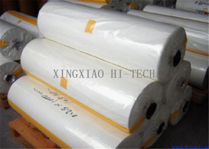 Milky White Electrical Insulating Materials Composite Polyester Film Roll