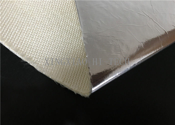 Thermal Insulation Fire Resistant High Silica Fabric Aluminum Foil