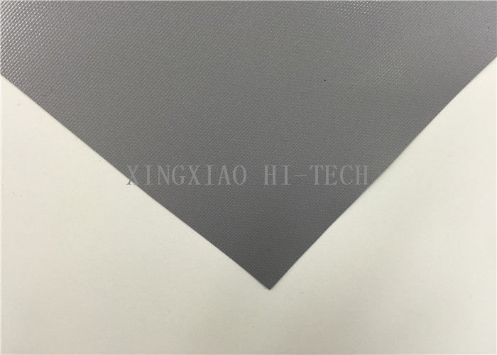 1000 / 1200 / 1500mm PU Coated Fiberglass Fabric High Tensile Strength